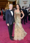 Michael Douglas and Catherine Zeta-Jones: Oscars 2013 red carpet