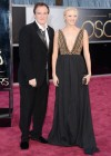 Quentin Tarantino and his girlfriend, writer Lianne Spiderbaby: Oscars 2013 red carpet (25)