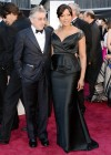Robert De Niro and his wife Grace Hightower: Oscars 2013 red carpet
