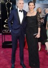 Daniel Day-Lewis and his wife Rebecca Miller: Oscars 2013 red carpet