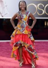 Actress Rachel Mwanza: Oscars 2013 red carpet