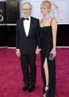 Director Steven Spielberg and his wife Kate Capshaw: Oscars 2013 red carpet