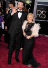 Bradley Cooper and his mother: Oscars 2013 red carpet