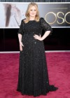 Adele: Oscars 2013 red carpet