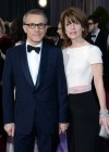 Christoph Waltz and his wife Judith Holste: Oscars 2013 red carpet