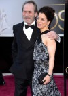 Tommy Lee Jones and his wife Dawn Laurel-Jones: Oscars 2013 red carpet