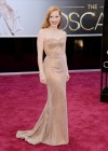 Jessica Chastain: Oscars 2013 red carpet