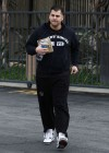 Rob Kardashian showing off his 40-pound weight gain after Rita Ora break-up