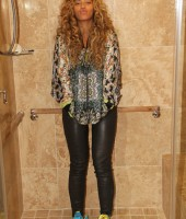 Beyonce in the shower