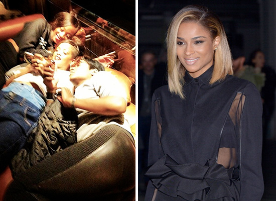 ciara responds to rihanna and her bff melissa forde 39 s. Cars Review. Best American Auto & Cars Review