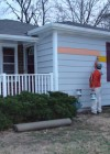 """Equality House"" right across the street from Westboro Baptist Church painted to look like gay pride rainbow flag"