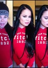 Porn stars with and without make-up: Nikki Delano
