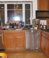 Robert Swift's squalid foreclosed home: the kitchen