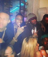 Soulja Boy with Bow Wow and Birdman in Miami
