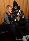 Trinidad James and YouTube singer Nikyee Heaton at Mansion Elan nightclub in Atlanta