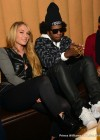 Trinidad James and YouTube singer Nikyee Heaton at Mansion Elan nightclub in Atlanta