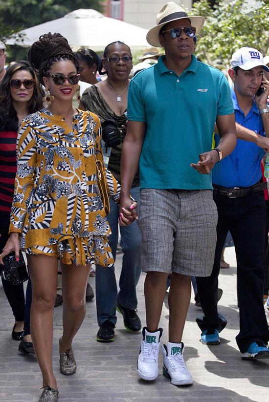 Beyonce Amp Jay Z Celebrate Fifth Wedding Anniversary In Cuba