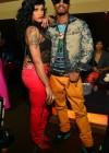 "Joseline and Stevie J at the ""Love & Hip Hop Atlanta"" Season 2 Premiere Party"
