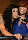 "Joseline and Mona Scott Young at the ""Love & Hip Hop Atlanta"" Season 2 Premiere Party"