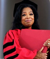 Oprah Winfrey at Harvard University's Class of 2013 Graduation