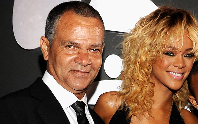 Image result for rihanna and dad