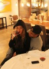 Beyonce drinking wine with Jay-Z in Berlin