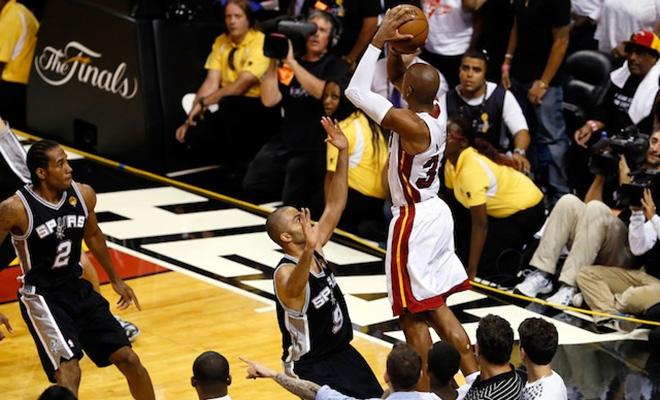 NBA Finals 2013: Ray Allen's Last Minute 3-Point Shot ...