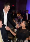 Rosario Dawson and Robin Thicke at the Samsung Hope for Children Gala in New York City