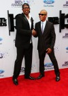 Master P & T.I. on the red carpet of the 2013 BET Awards