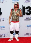 French Montana on the red carpet of the 2013 BET Awards