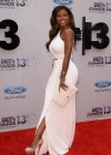 Kenya Moore on the red carpet of the 2013 BET Awards