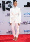 Janelle Monae on the red carpet of the 2013 BET Awards