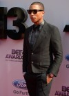 Pharrell Williams on the red carpet of the 2013 BET Awards