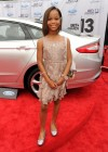 Quvenzhané Wallis on the red carpet of the 2013 BET Awards