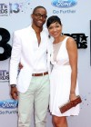 Jay Ellis and his mother Paula Ellis on the red carpet of the 2013 BET Awards