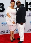 Tamela and David Mann on the red carpet of the 2013 BET Awards