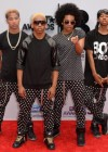 Mindless Behavior on the red carpet of the 2013 BET Awards