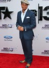 Terrence Howard on the red carpet of the 2013 BET Awards
