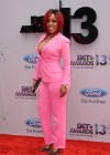 K. Michelle on the red carpet of the 2013 BET Awards