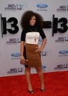 Elle Varner on the red carpet of the 2013 BET Awards