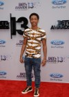 Jacob Latimore on the red carpet of the 2013 BET Awards