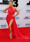 Adrienne Bailon on the red carpet of the 2013 BET Awards