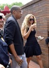 Beyonce & Jay-Z at Trayvon Martin Rally in NYC