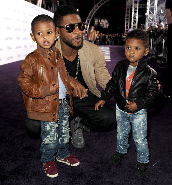 Usher Challenges His Son To Dance Dance Revolution