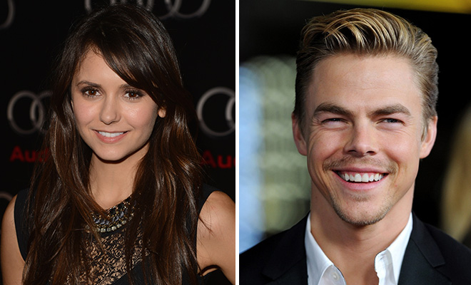 nina dobrev and derek hough dating again