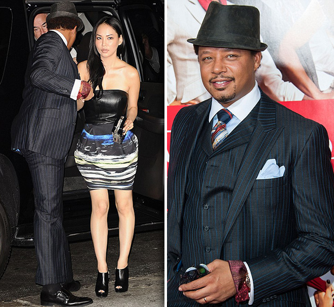 Who is terrence howard dating now