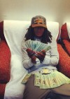"Young QC ""Flexing"" on Instagram/Facebook with the money he stole from his dead mother"