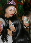 Beyoncé, Kelly Rowland, Michelle Williams and Angela Beyince at Blue Ivy's 2nd Birthday Party