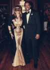 Tina Knowles and her new boyfriend Richard Lawson at her 60th Birthday Party Masquerade Ball