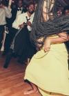 Solange dancing at Tina Knowles's 60th Birthday Party Masquerade Ball